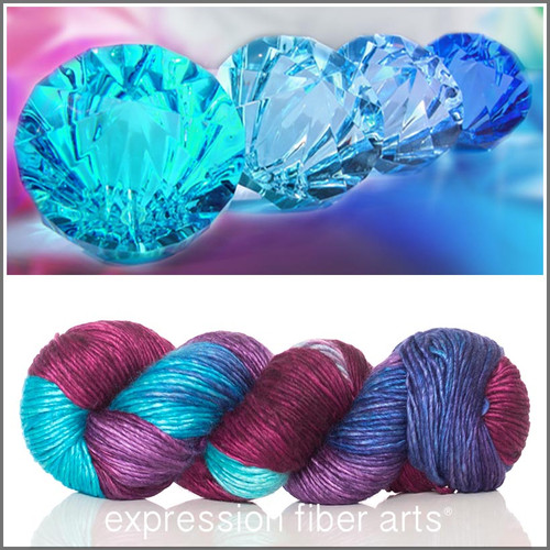 BEJEWELED SUPERWASH MERINO SILK PEARLESCENT WORSTED