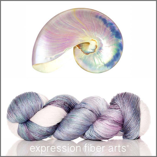 PEARL NAUTILUS SUPERWASH MERINO SILK PEARLESCENT FINGERING