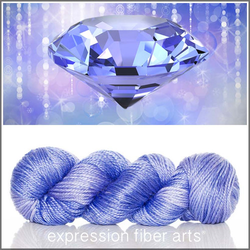 DECEMBER TANZANITE 'LUSTER' WORSTED