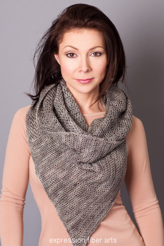 Creek Bed Crochet Wrap Pattern