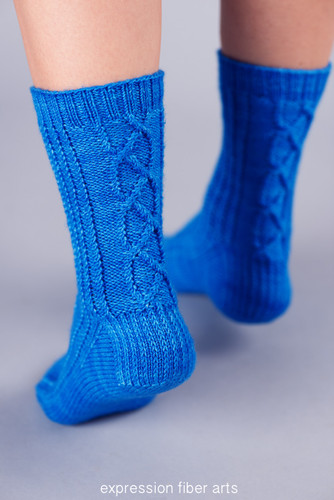 Laramie Knitted Sock Pattern