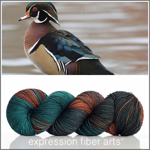 WOOD DUCK 'RESILIENT' SOCK