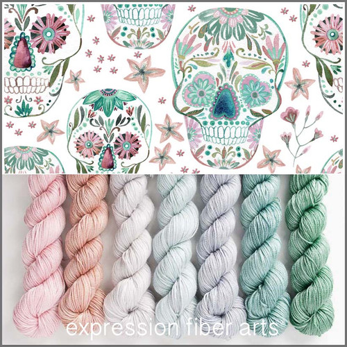 SUGAR SKULL HUES 'LUSTER' SPORT MINI KIT