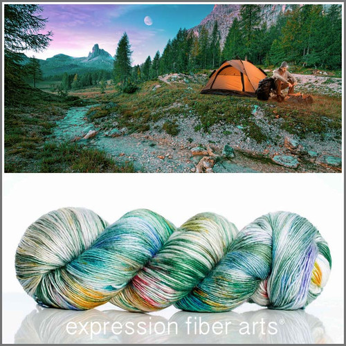 WILDERNESS SUPERWASH MERINO SILK PEARLESCENT FINGERING