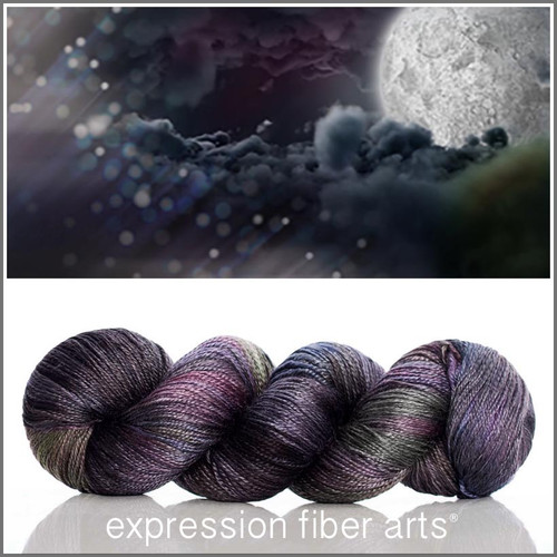 Pre-Order THE DARK SIDE OF THE MOON 'LUSTER' SUPERWASH MERINO TENCEL SPORT