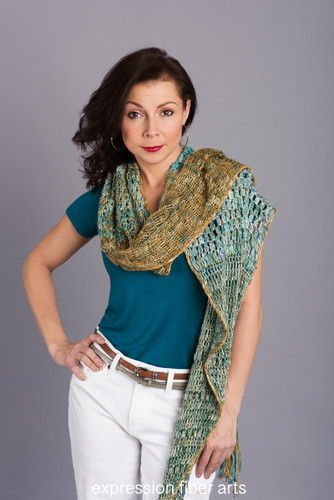 18 Karat Crochet Shawl Pattern