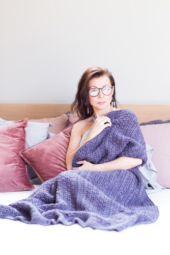 Luxurious Lap Blanket Crochet Pattern