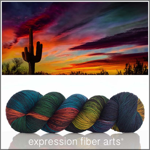 SAGUARO 'RESILIENT' SUPERWASH MERINO SOCK
