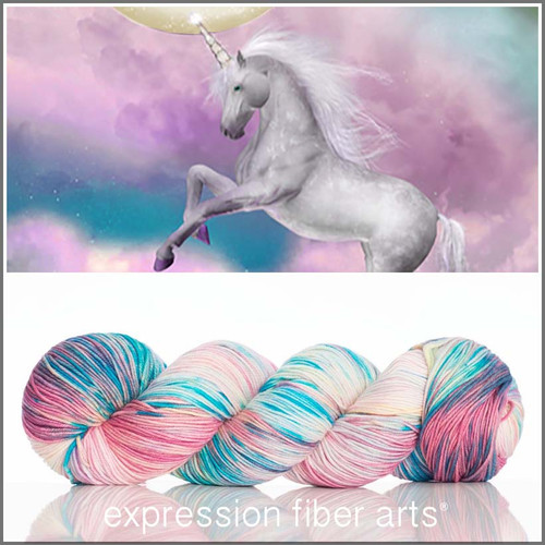 UNICORN SPRINKLES 'RESILIENT' SUPERWASH MERINO SOCK