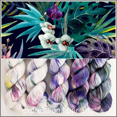 TROPICS HUES PEARLESCENT FINGERING KIT