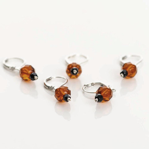 Toffee 5-Pack Opening Stitch Markers