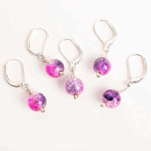 Light Purple 5-Pack Opening Stitch Markers