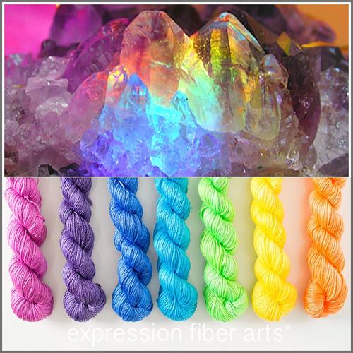 Rainbow Jewel Hues Luster Sport Mini Kit Expression