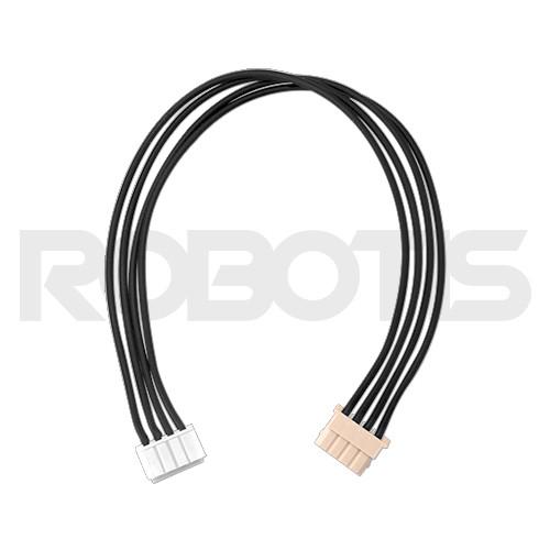 Robot Cable-X4P 180mm (Convertible) (10pcs) - ROBOTIS