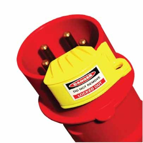 Pin & Sleeve Plug Lockout - Male Type   PS-LOTO-PINSLEEVE