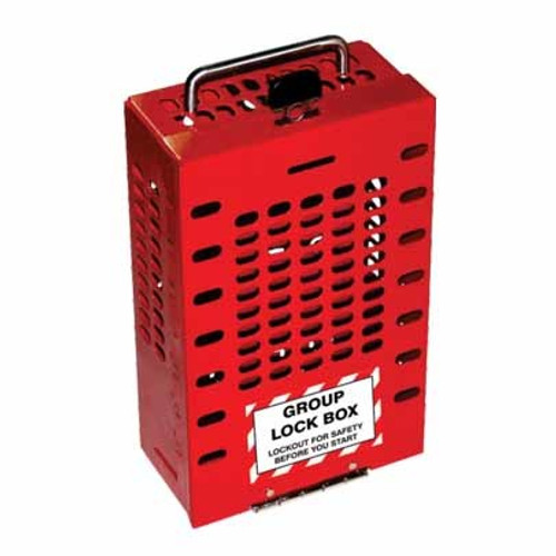 Group Lock Box - 15 - PS-LOTO-GLBWKH15