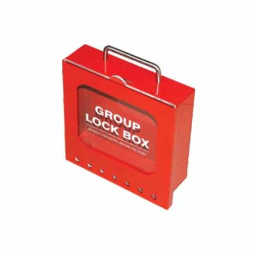 Group Lock Box - 7 (US) - PS-LOTO-GLBRU2