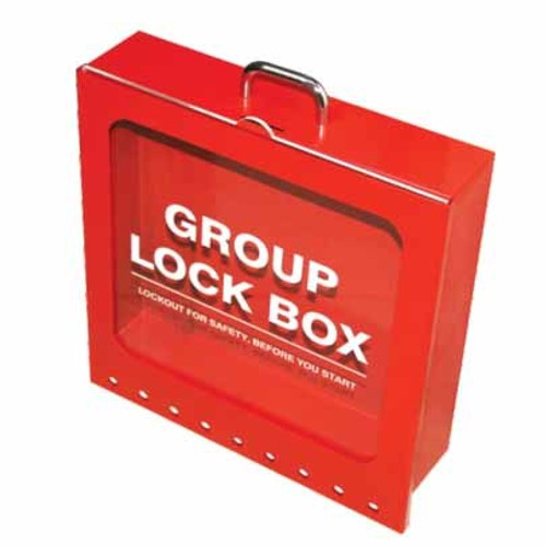 Group Lock Box - 9 (LR) PS-LOTO-GLBRU4