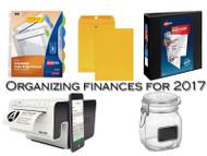 Organizing Finances For 2017