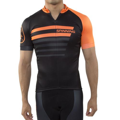 Spinning® Vega Men's Cycling Jersey Orange