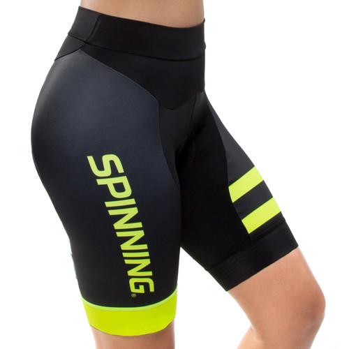Spinning® Vega Women's Cycling Shorts Yellow