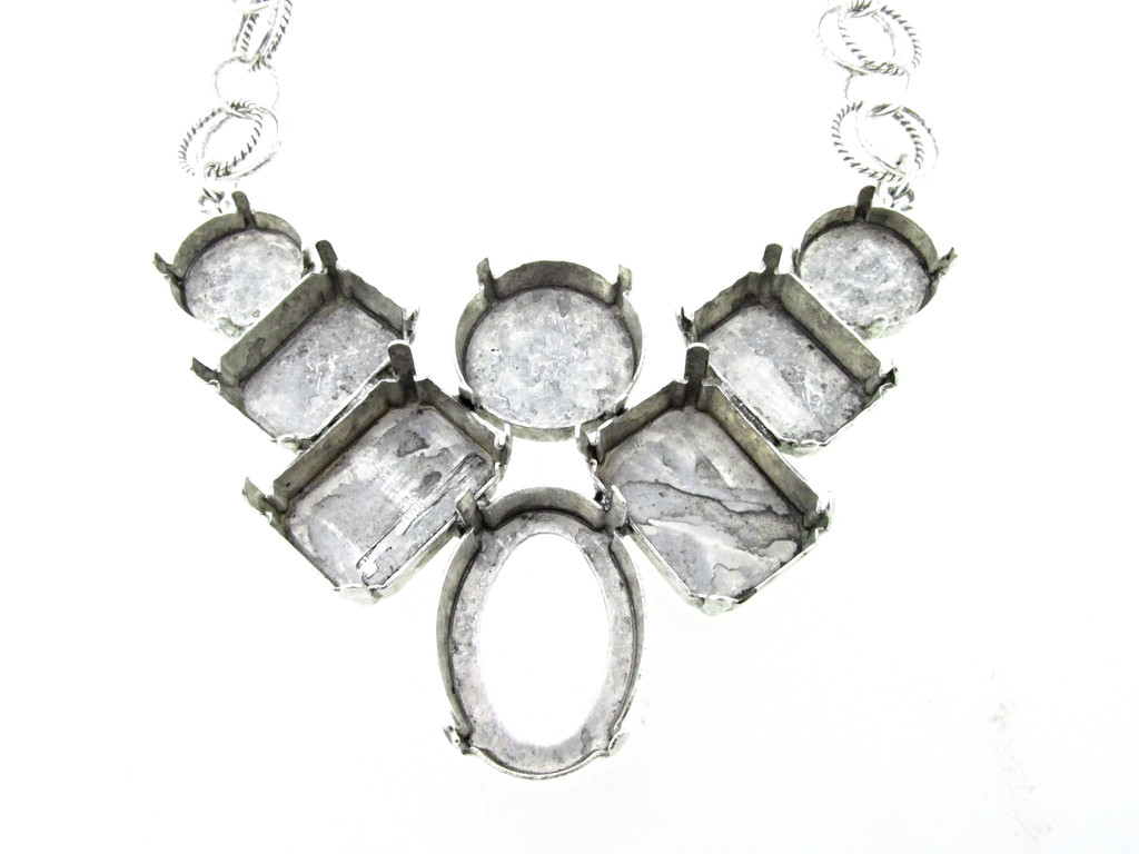 Large Statement Necklace Style 2   One Piece