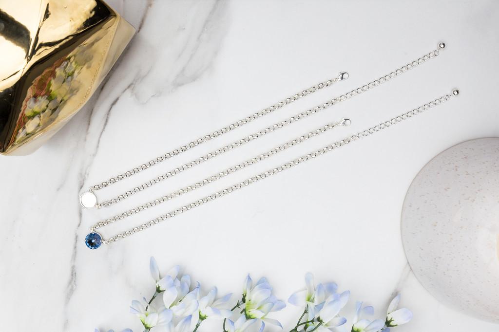 14mm Round | Pendant Necklace | Three Pieces