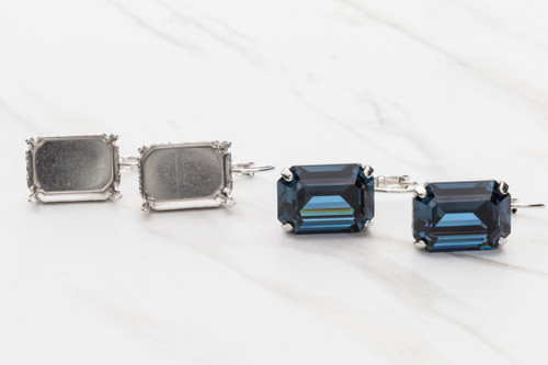 18mm x 13mm Octagon | Drop Earrings | Three Pairs