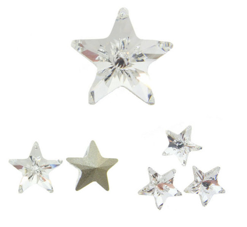 10mm Fancy | Star | Swarovski Article 4745 | 12 Pieces