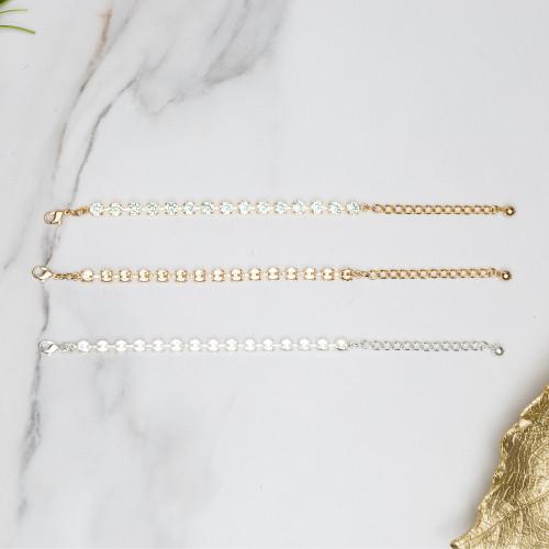 6mm | Classic Fifteen Setting Bracelets | Three Pieces