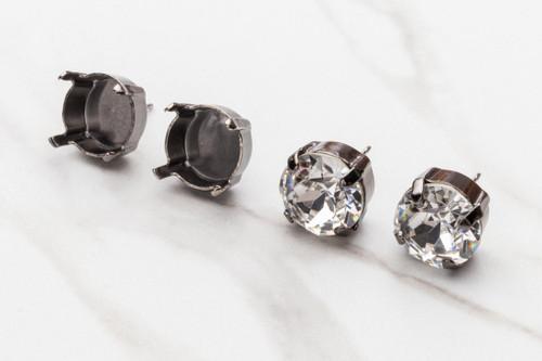 11mm | Classic Stud Earrings | Three Pairs