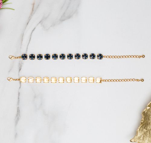 11mm | Classic Eleven Setting Bracelets | Three Pieces
