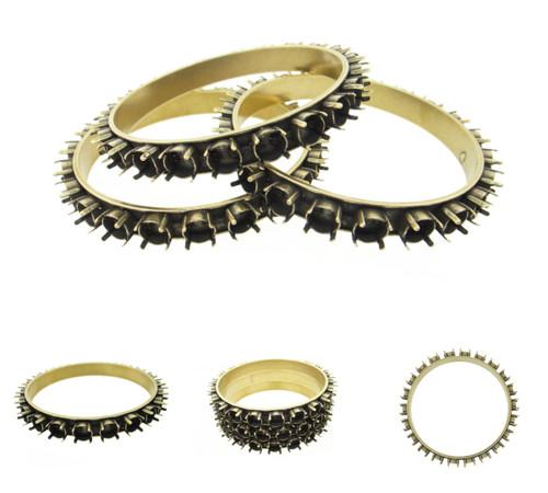 Empty 8.5mm (39ss) Bangle Bracelets