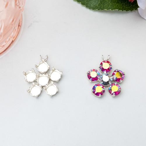 8.5mm | Flower Pendant | Three Pieces