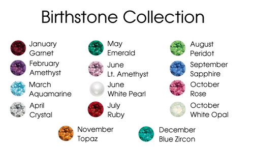 8.5mm | Birthstone Mixed Color Assortment