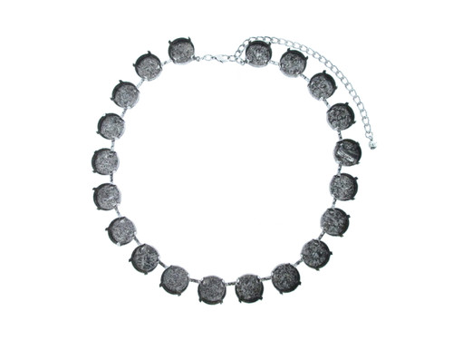 18mm Round   Classic 20 Setting Necklace   One Piece