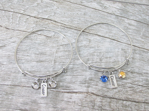 8.5mm | Cheer Charm Bangle Bracelet | One Piece