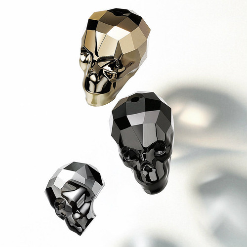 13mm - 19mm | Skull Bead | Swarovski Article 5750 | One Piece