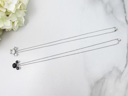 6mm & 11mm | Mouse Pendant Necklace | One Piece