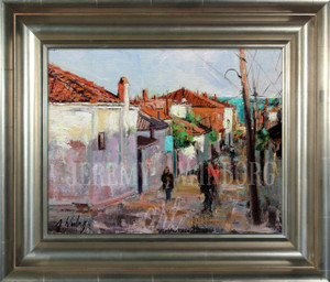 Durres Original Oil Study (SOLD)