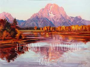 Mount Moran Autumn Giclée Print