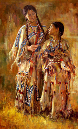 Shoshone Dolls Original (SOLD)
