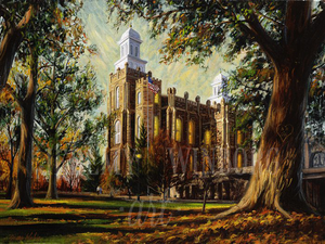 Logan Temple Autumn Giclée Print Studio Sale