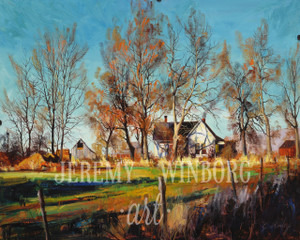 Autumn House Giclée Print Studio Sale