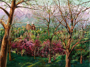 View From College Hill Giclée Print