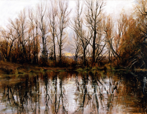 Millville Pond Giclée Print