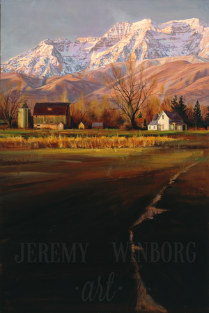 Timpanogos Morning Original (SOLD)