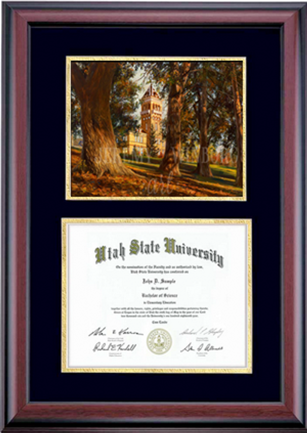 Diploma Size Old Main Memories Giclée Print