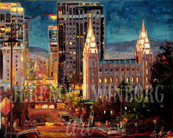 View from Capitol Hill Large Giclée Print Studio Sale