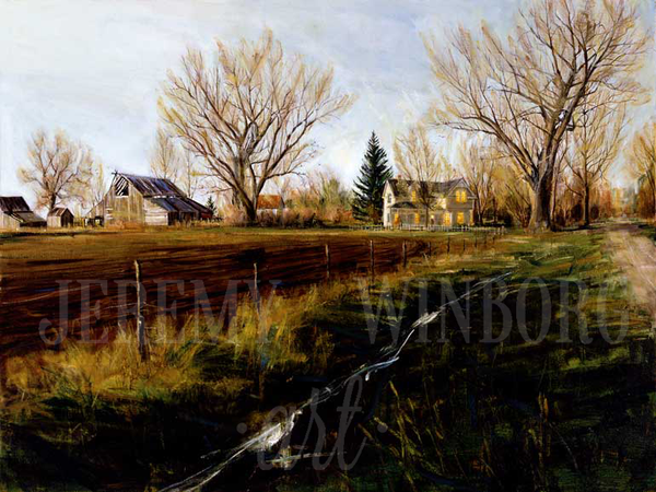 Plowed Fields Giclée Print
